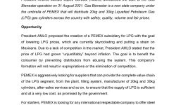 """MATRADE's Article - """"Mexico's Gas Bienestar Programa : An Opportunity for Malaysian Suppliers"""""""